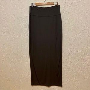Eileen Fisher Brown Maxi Skirt